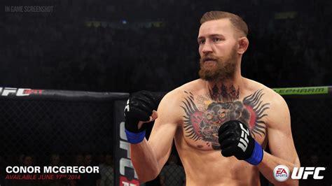 conor mcgregor tattoo real ea sports ufc game reviews thumped com