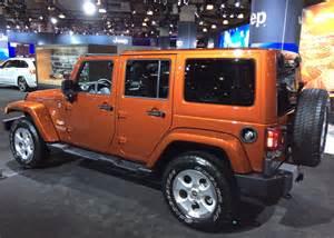2014 jeep wrangler 4 door at the 2014 new york auto show