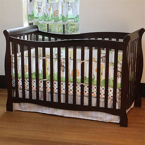 Walmart Baby Crib Child Of Mine By S Brookline 4 In 1 Fixed Side Crib Chocolate Furniture Walmart