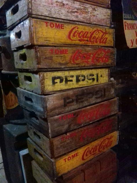 imagenes antiguas de coca cola caja antiguas de refresco coca cola y pepsi 800 00 en