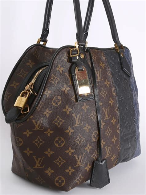 louis vuitton marine limited edition monogram blocks bag