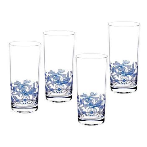 spode glasses spode blue italian hi glasses set of 4 39 99 you