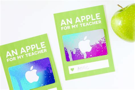 itunes gift card online printable teacher gift card holders skip to my lou
