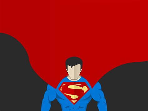superman vector art  sameed khan  dribbble