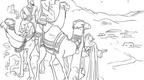 imagenes de navidad para colorear reyes magos dibujos de reyes magos para colorear 1