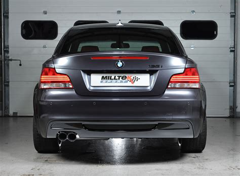 Bmw 135i Exhaust by Bmw 1 Series 135i Coup 233 E82 And Cabriolet E88 N54