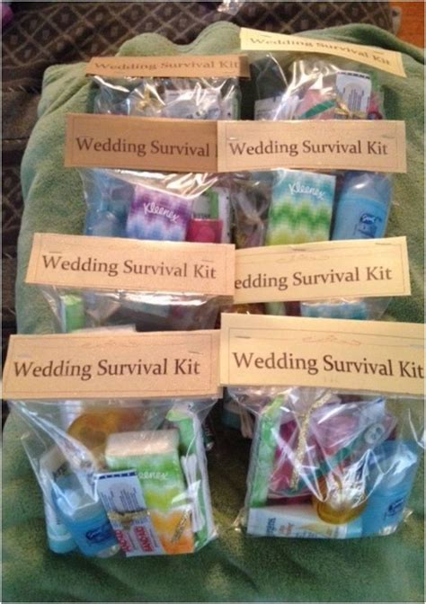 Top 10 DIY Wedding Day Emergency Kits   Will You Be My