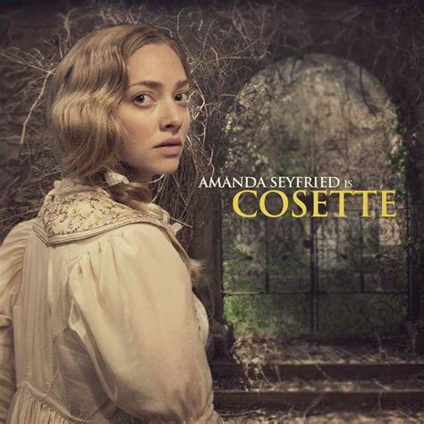 amanda seyfried les mis cosette amanda seyfried les miserables pinterest