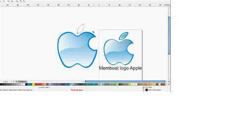 tutorial logo apple corel draw rl how to make apple logo with corel draw