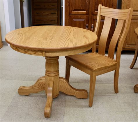 36 pedestal table 36 single pedestal table amish traditions wv