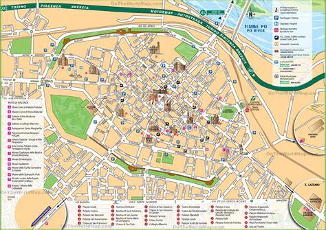 piacenza italy map piacenza tourist map