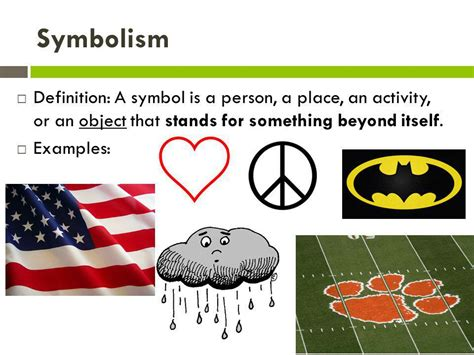 symbolizes meaning personification symbolism allusion ppt video online