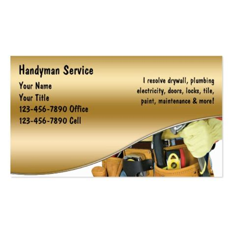 handyman business cards templates free plumbing business card templates bizcardstudio