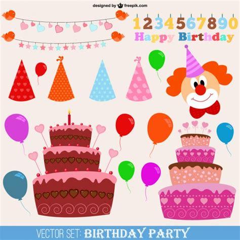 imagenes vectores fiesta vectores de fiesta de cumplea 241 os descargar vectores gratis