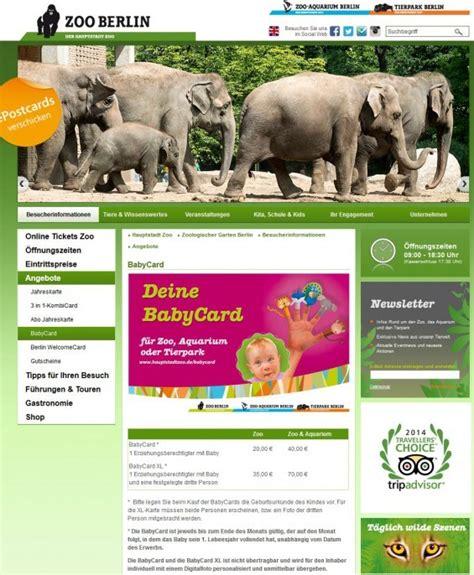Zoologischer Garten Berlin Einkaufen by Ausflugstipps Unternehmungen Mit Baby In Berlin