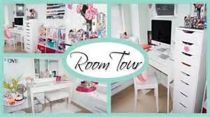 Dressing Room Vanity Room Tour 2015 Office Amp Vanity Organization Storage
