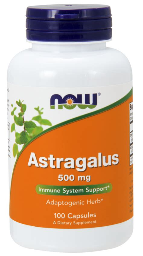 Astragalus Root Detox by Astragalus 500 Mg Capsules Now Foods