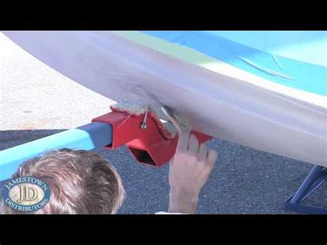 how to apply boat bottom paint how to apply bottom paint youtube