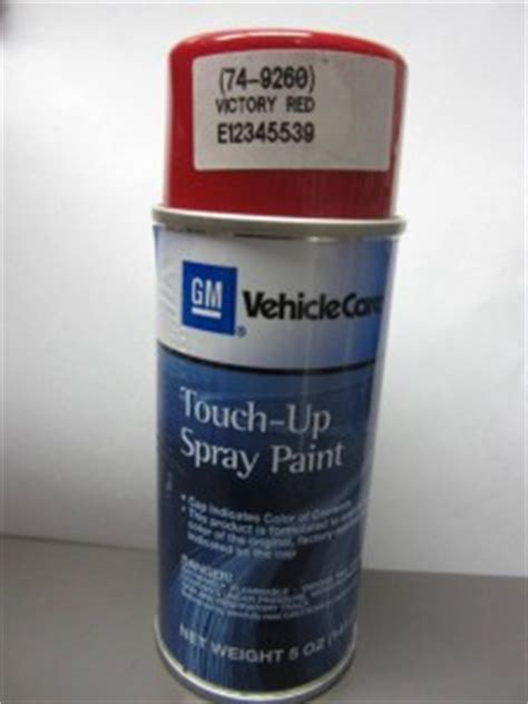 5 oz gm spray paint touch up touchup victory code 74 9260 74 e12345539 ebay