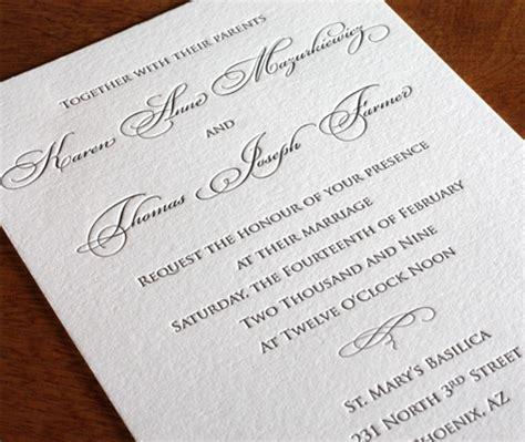 formal wedding invitation designs traditional wedding