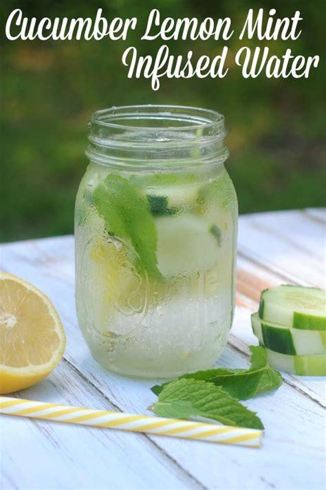 Lemon Cucumber Water Detox Recipe by Cucumber Lemon Mint Water Recipe Not Quite Susie Homemaker