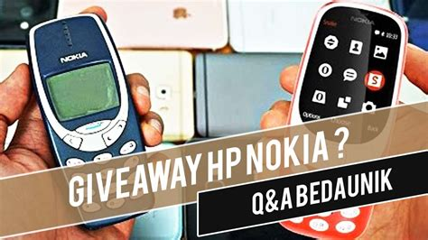 Hp Nokia 3310 New hp nokia 3310 new 2017 tahan banting