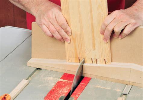 Ciptarekamesin Building A Shop Made Table Saw Dovetail