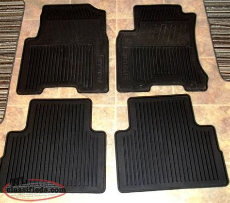 nissan rogue versa winter floor mats paradise newfoundland
