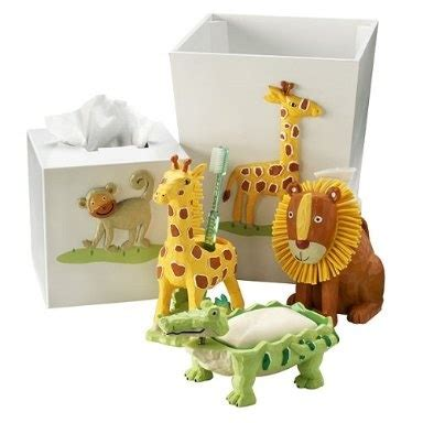 Safari Bathroom Accessories Kid S Safari Bathroom Accessories For The Home
