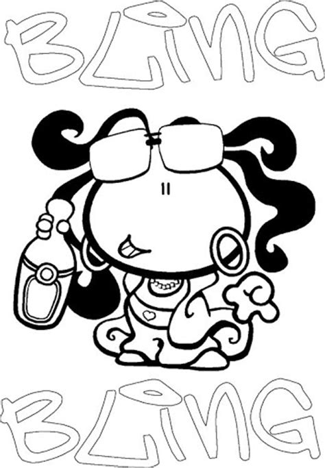 Bubblegumclub Free Coloring Pages Bubblegum Club Colouring Pages