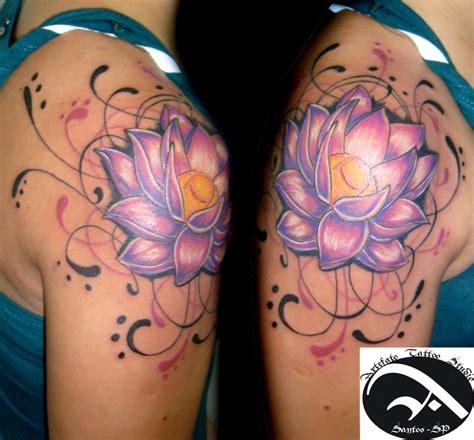 Lotus On Shoulder Lotus Tattoos Page 36