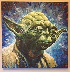 painting images yoda star wars painting jonarton