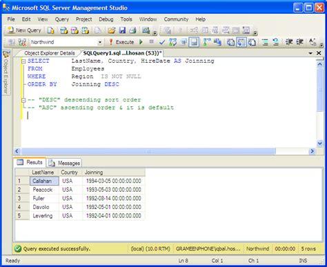sql query tutorial download explorerevizion blog