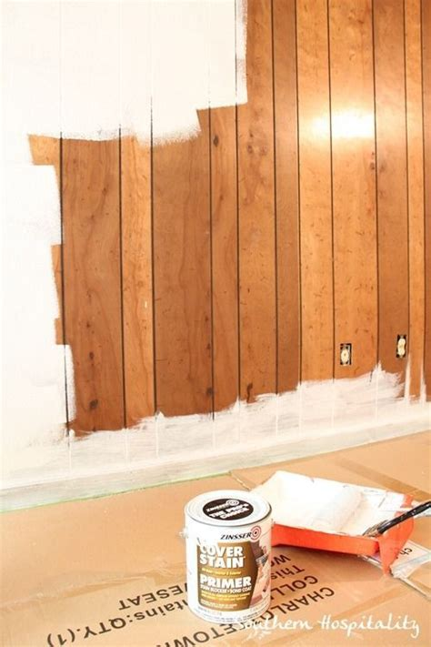 how to update wood paneling house renovation week 12 paint that paneling people