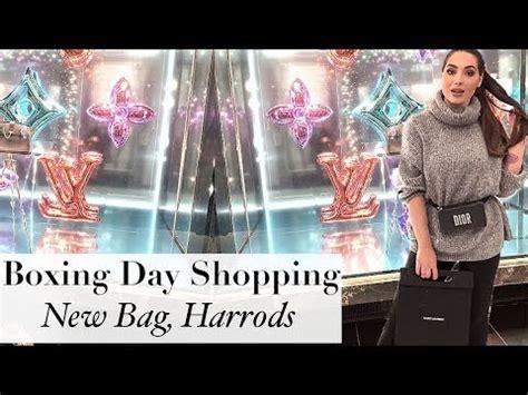 Secret Montana Shopping Bag Ct boxing day shopping i bought a new bag harrods selfridges oxford circus