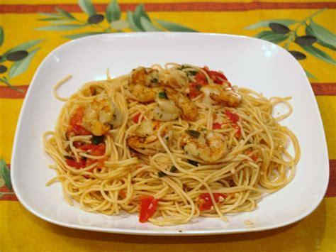 shrimp pasta recipes garlic tomato basil grilled shrimp pasta recipe by brett