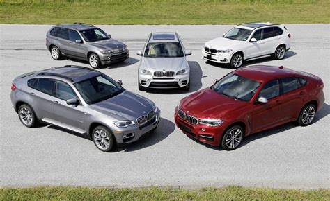 X Models by 15 Years Of Bmw X Models