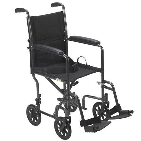 drive economy steel transport chair