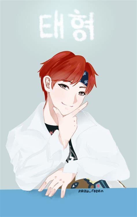 V Anime Bts by V Fanart Bts My Taehyung V Bts