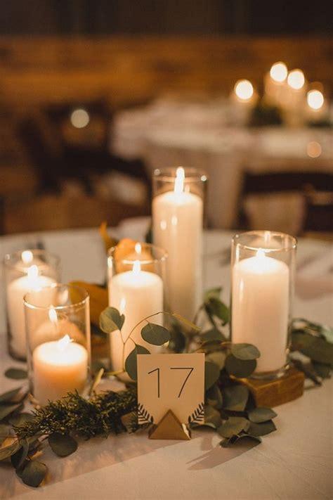 chic romantic wedding ideas  candles deer pearl