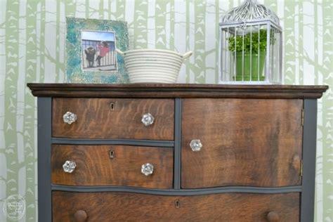 Refinished Antique Dresser by Refinished Antique Oak Dresser For Daughters Refresh