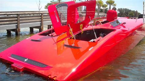 ferrari cigarette boat supercar yacht dream machine or ego gone mad cnn