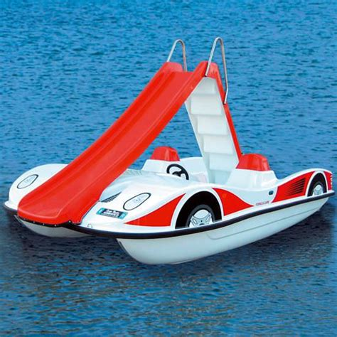 car with boat race car pedal boat with slide toys i need