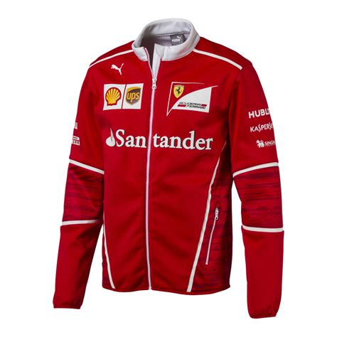 ferrari clothing men mens ferrari soft shell team jacket race gear