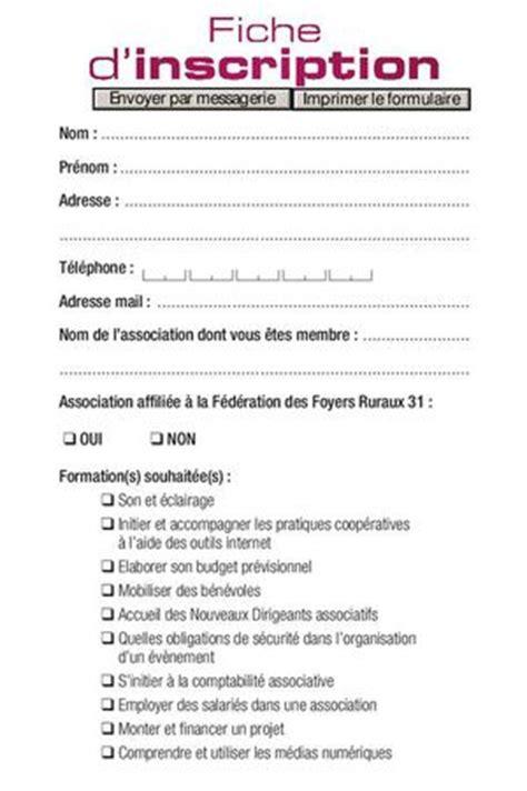 Formulaire Credit Formation Dirigeant Calam 233 O Formation 2013 2014 Fiche D Inscription Remplissable