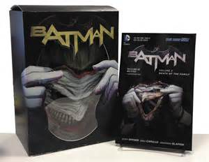 batman vol 3 of the family the new 52 batman of the family joker mask paired with vol