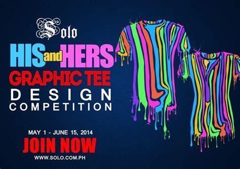 design contest in the philippines solo s his hers graphic tee design winners orange magazine