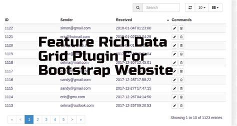 bootstrap theme generator sass bootstrap table row link phpsourcecode net