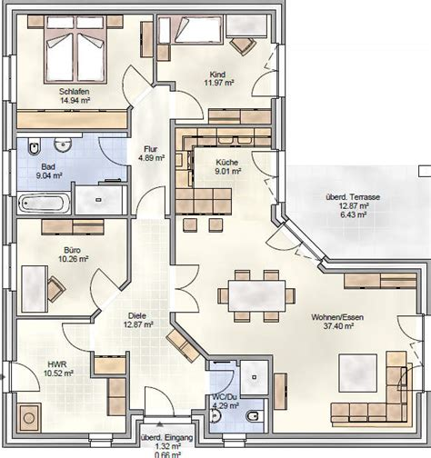 wohnfläche bad k 252 che bungalow grundriss offene k 252 che bungalow grundriss