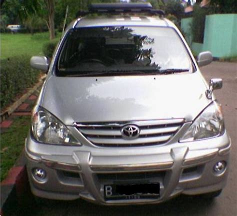 Lu Depan Avanza 2004 modifikasi mobil avanza 2008 car interior design